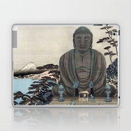 Ukiyo-e, Ando Hiroshige, KAMAKURA DAIBUTSU Laptop & iPad Skin