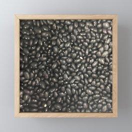 Black Beans Framed Mini Art Print