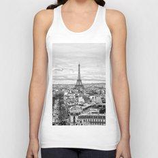 Paris Unisex Tank Top
