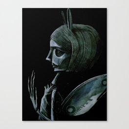sorrow, sorrow Canvas Print