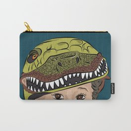 The Dino Helmet Carry-All Pouch