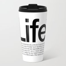 Life.* Available for a limited time only. (White) Travel Mug