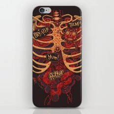Anatomical Study - Day of the Dead Style iPhone Skin