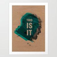 Breaking bad poster 1 Art Print
