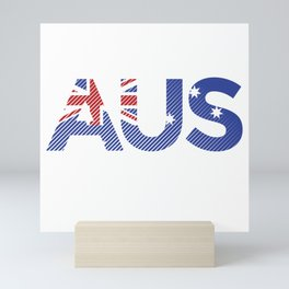 Australia - Win the Cup Mini Art Print
