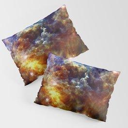 Rosette Nebula Pillow Sham