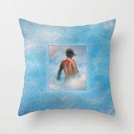 Descendant Throw Pillow