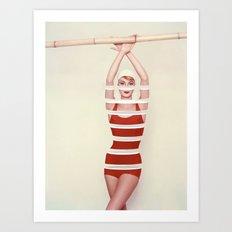 Sliced (2011) Art Print