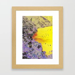 AMALFI COASTLINE Framed Art Print