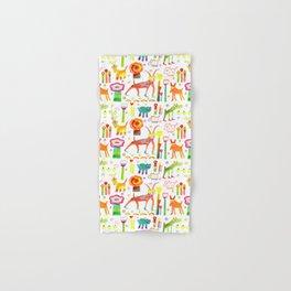 Animal Garden Hand & Bath Towel