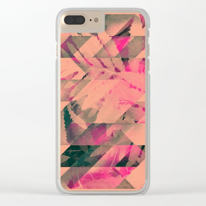 lyyf tryp Clear iPhone Case