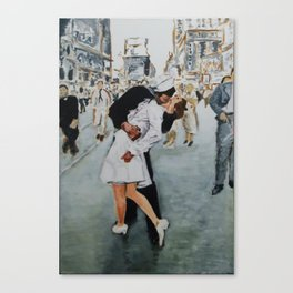 VJ Day Kiss Canvas Print