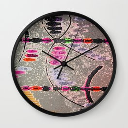 Jewels I Wall Clock