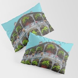 Hanging Baskets of Royal Street, New Orleans Pillow Sham