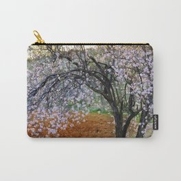"""""""Flowering Almond"""". At Sunset Carry-All Pouch"""