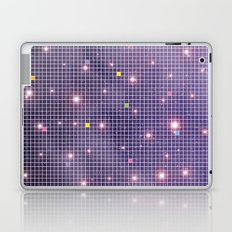 Universe in checked pattern Laptop & iPad Skin