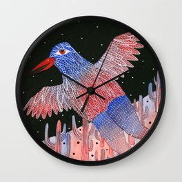 Desert goddess Wall Clock
