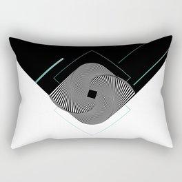 Op-Art Rectangular Pillow