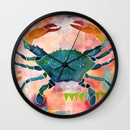 Blue Crab No. 1 Wall Clock