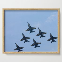 Blue Angels in Seattle Serving Tray