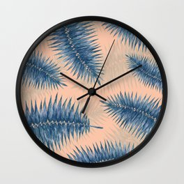 Palm Fronds 3 Wall Clock