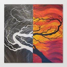Firemass Canvas Print