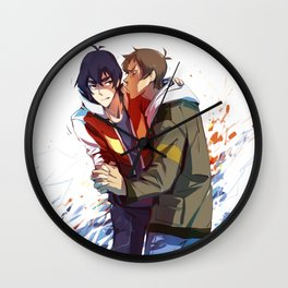 klance :> stetchy_messy Wall Clock