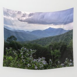 Smoky Mountain Wildflower Adventure - Nature Photography Wall Tapestry