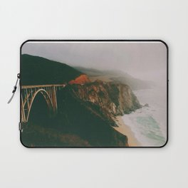 Bixby Creek Bridge, Big Sur, California Laptop Sleeve