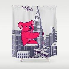 Koala Kong Shower Curtain