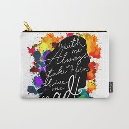 Wuthering Heights Quote Carry-All Pouch