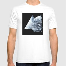 Shatter Me Mens Fitted Tee MEDIUM White