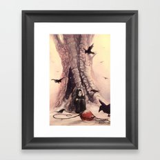 Feeding the Crows Framed Art Print