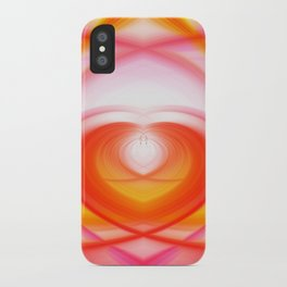 Twirl in Love iPhone Case