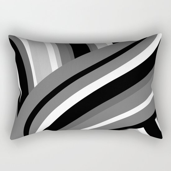 Twisted Turn Rectangular Pillow