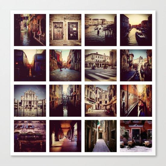 Instadeck Venice Canvas Print