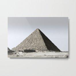 Egyptian Pyramid Metal Print