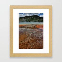 Scalding Lake Framed Art Print
