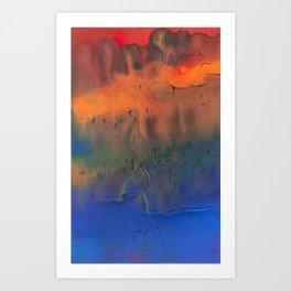 Vent de sable - Velvetink Collection Art Print