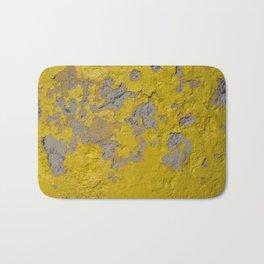 Yellow Peeling Paint on Concrete 1 Bath Mat