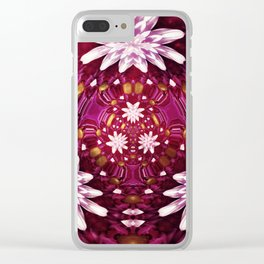 Trip Yer Daisy Clear iPhone Case