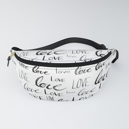 Words of Love Fanny Pack