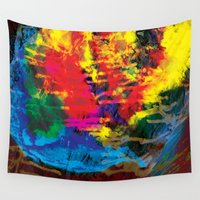 aurora Wall Tapestries featuring Aurora by remy dixon