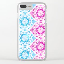 Mandala Series 01 Clear iPhone Case