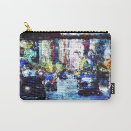 Traffic In The City Carry-All Pouch