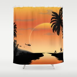 NAM 1 Shower Curtain