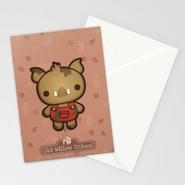 Randy the Dirty Boar Stationery Cards