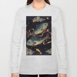 Zodiac sign Pisces Long Sleeve T-shirt