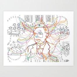 ENIGMA Art Print