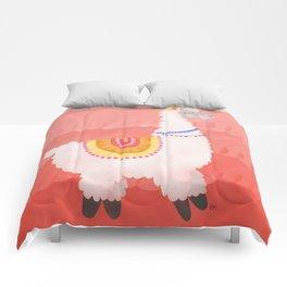 Happy Llama Comforters